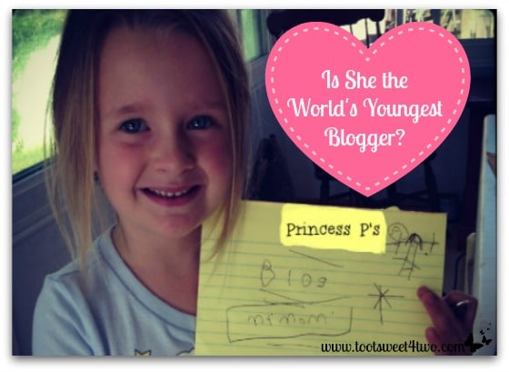 Is She the World's Youngest Blogger