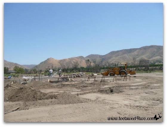 Preparing the foundation for concrete