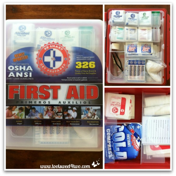 Purchased First Aid Kit