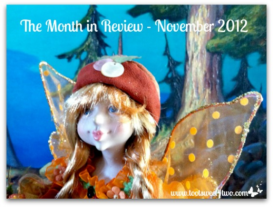 The Month in Review - November 2012 cover