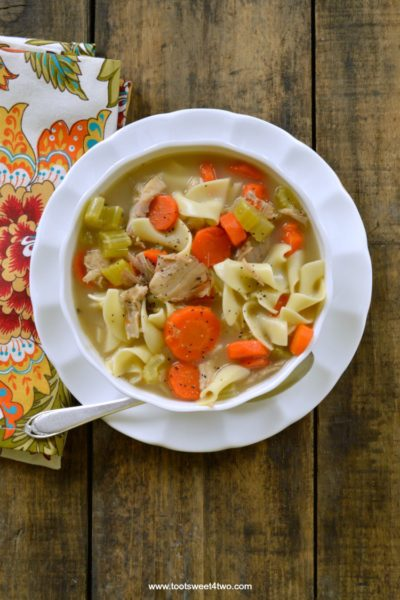 Scratch-Made Turkey Noodle Soup for a Crowd