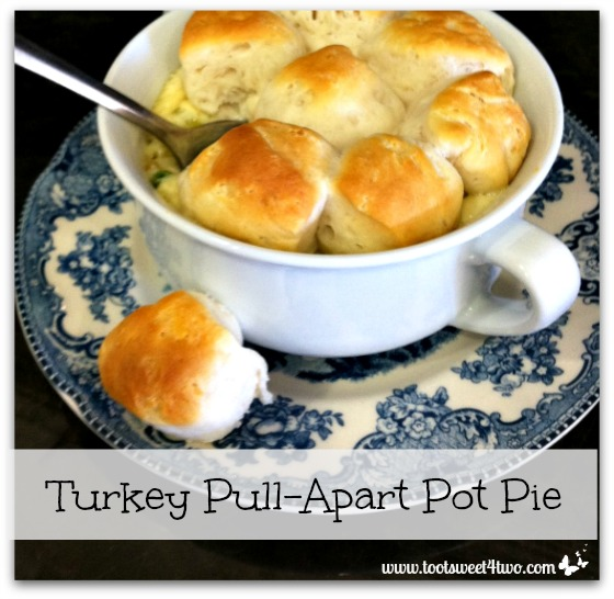 Turkey Pull-Apart Pot Pie