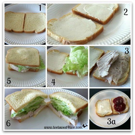 Turkey Sandwich tutorial