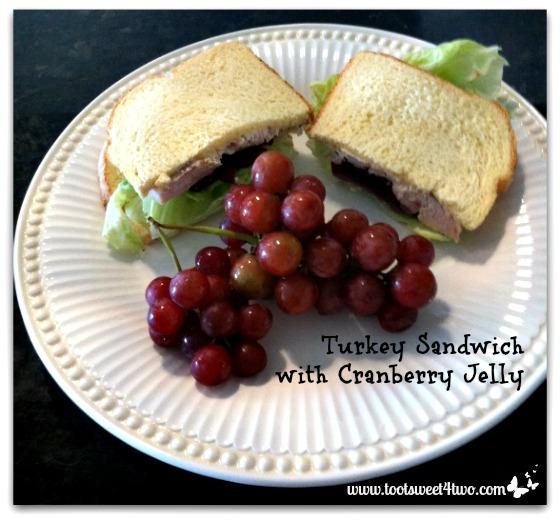 Turkey Sandwich with Cranberry Jelly