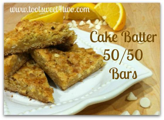 Cake Batter 50-50 Bars cover