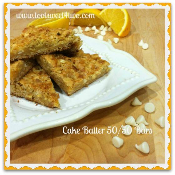 Cake Batter 50-50 Bars