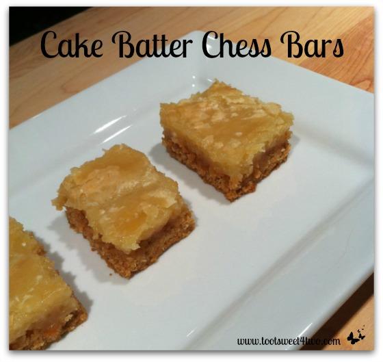 Chess Bars With Yellow Cake Mix