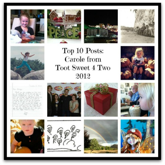 Carole's Top 10 Posts