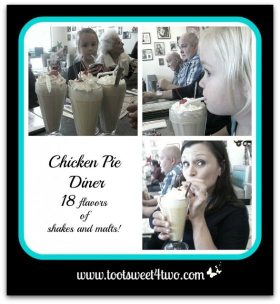 Chicken Pie Diner Milkshakes