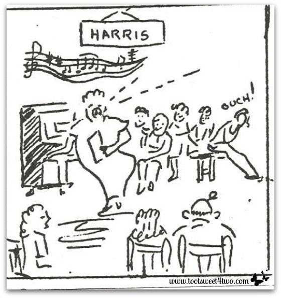 Choir practice - December 8, 1941