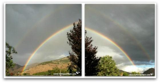 Connecting the rainbow