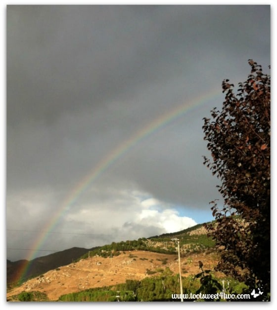 End of the rainbow - left view