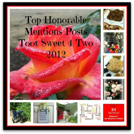 Honorable Mention Posts