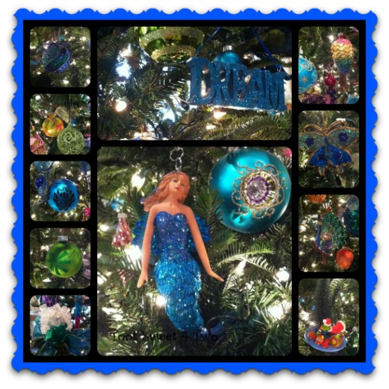 Mermaid Christmas Ornaments