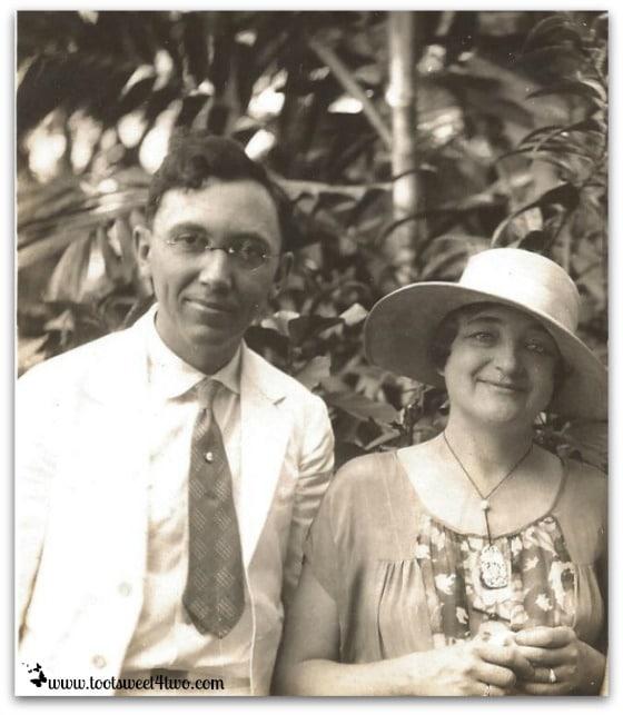My grandparents - Joseph and Emma Moore
