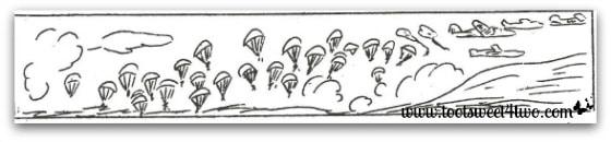 Paratroopers rescue mission - Los Banos