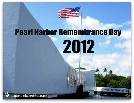 Pearl Harbor Remembrance Days 2012 cover