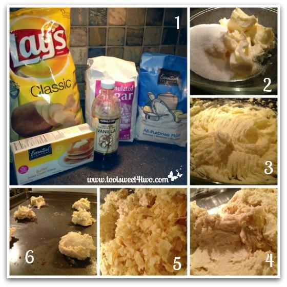 Potato Chip Cookie tutorial