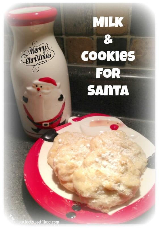 Potato Chip Cookies for Santa