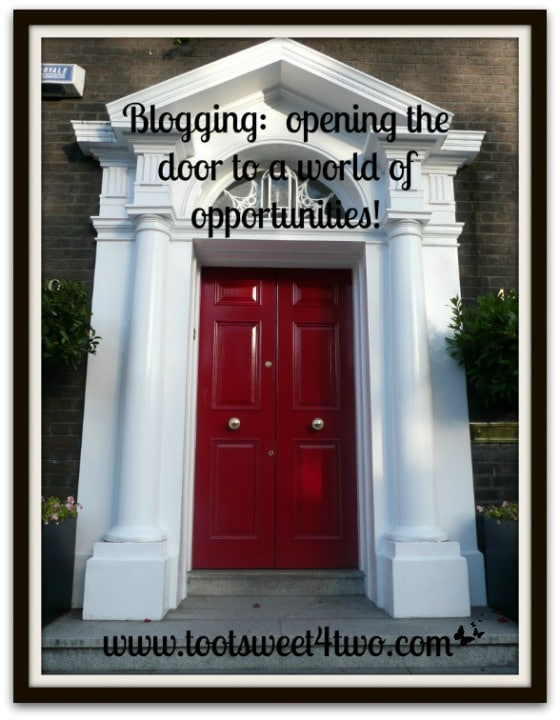 Red Door in Dublin, Ireland