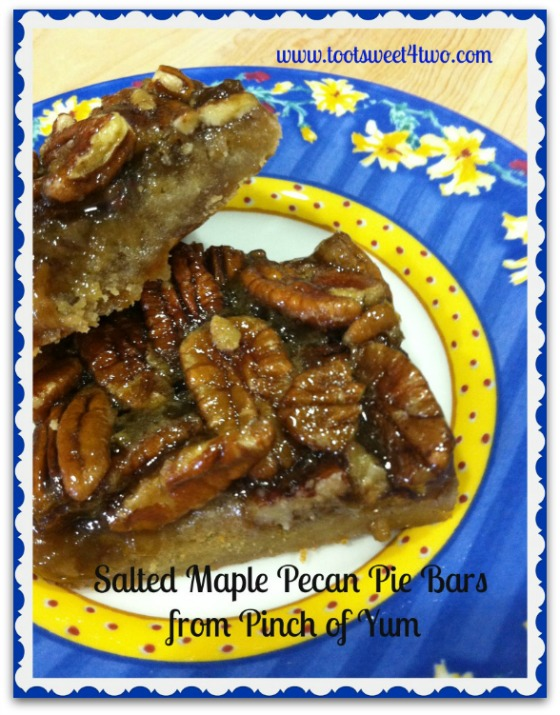 Salted Maple Pecan Pie Bars Pinterest