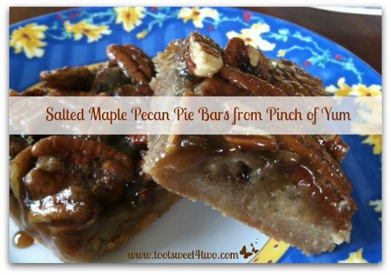 Salted Maple Pecan Pie Bars cover