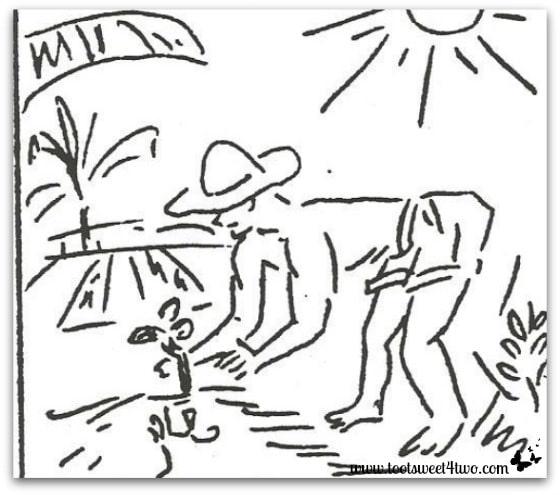 Tending crops - December 8, 1941