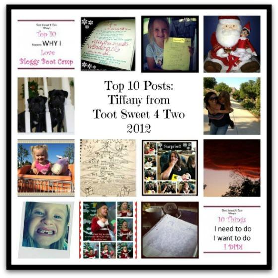 Tiffany's Top 10 Posts 2012