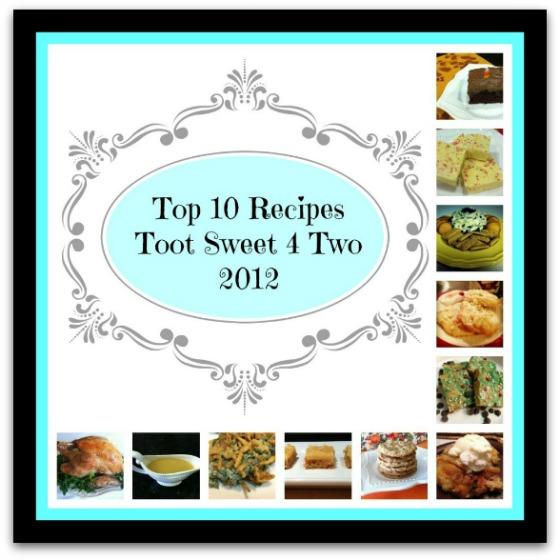 Top 10 Recipes 2012