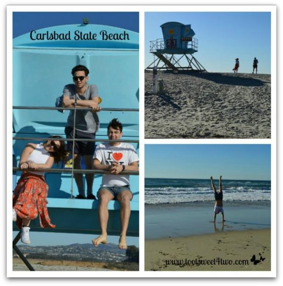 Carlsbad State Beach - Ali, Sam, Bert - 42 Things to do in San Diego