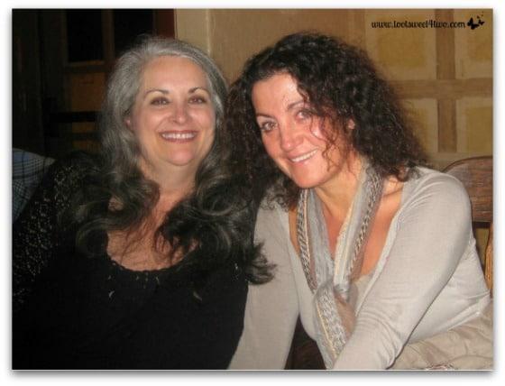 Carole and Gina 2009 - Ties That Bind