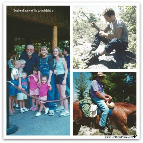 Dad outdoor fun - Requiem for My Father