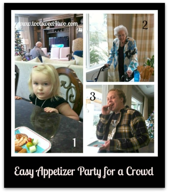 Family-friendly Easy Appetizer Party for a Crowd