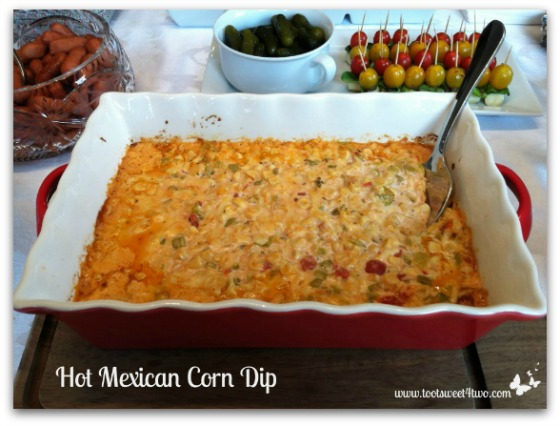 Hot Mexican Corn Dip cover