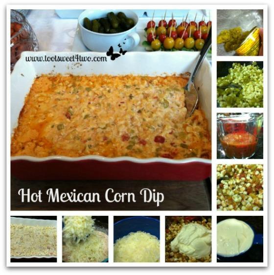 Hot Mexican Corn Dip tutorial