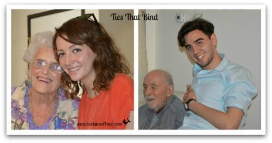Jo, Ali, Chuck and Sam - Ties That Bind