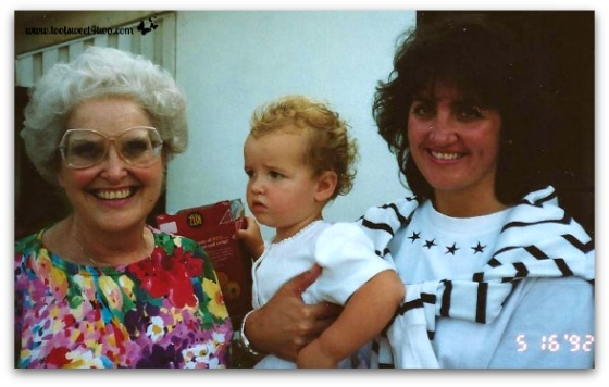 Jo, Ali, Gina - May 1992 - Ties That Bind