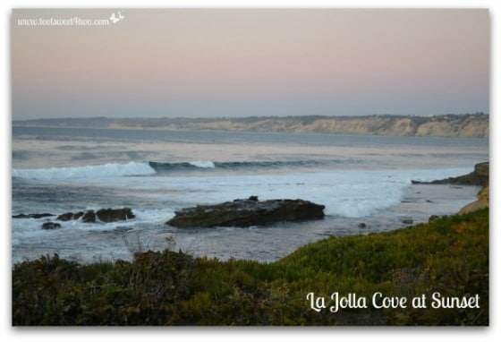 La Jolla Cove at dusk - 42 Things to do in San Diego