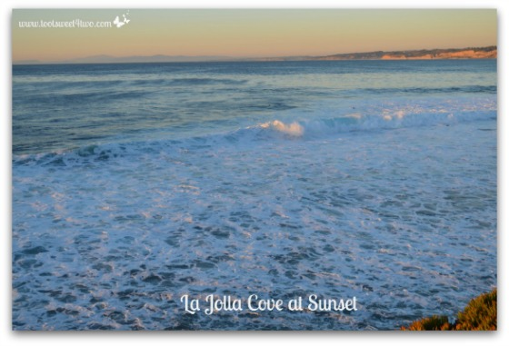La Jolla Cove at sunset - 42 Things to do in San Diego