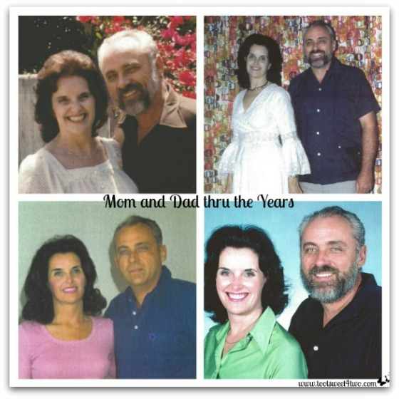 Mom and Dad thru the years - Requiem for My Father