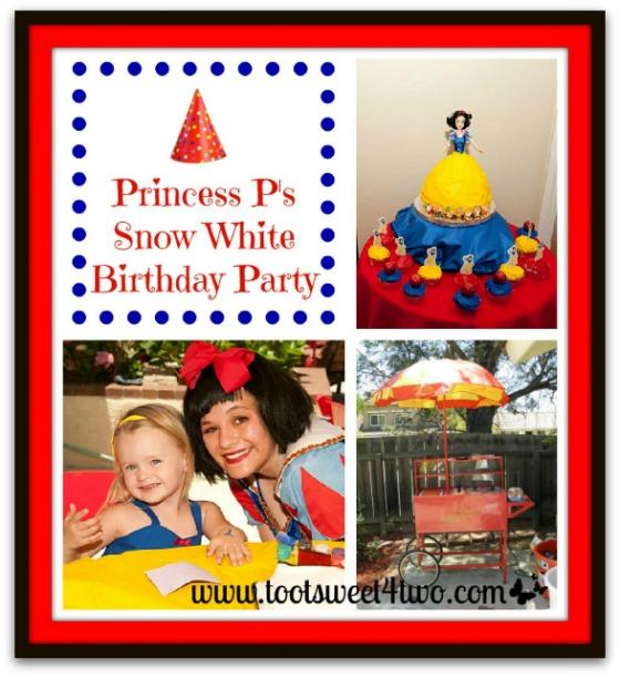 Princess P's Snow White Birthday Party
