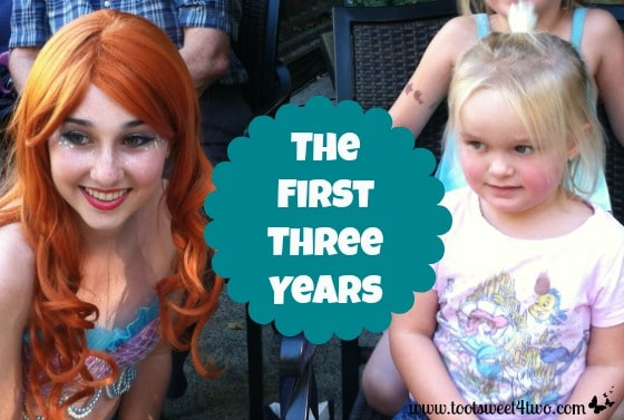 Princess Sweetie Pie meets Ariel - The First Three Years