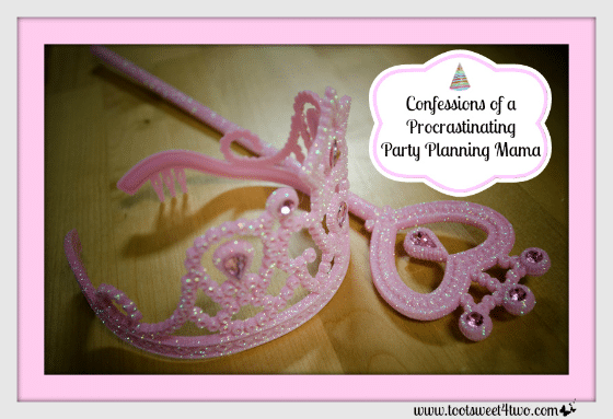 Princess Tiara - Confessions of a Procrastinating Party Planning Mama