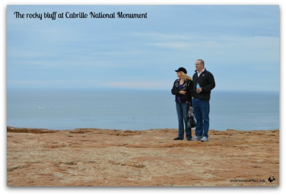 Rocky bluff at Cabrillo National Monument - Requiem for My Father