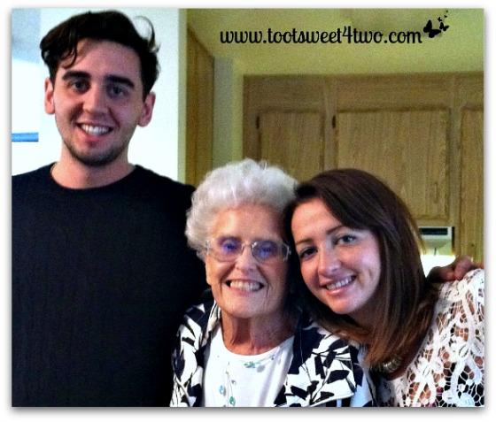 Sam, Jo, Ali - January 2013 - Ties That Bind