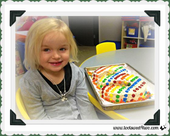 Three Rainbow Cake