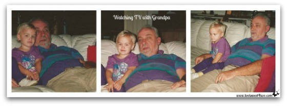 Watching movies with Grandpa - In the Arms of Love