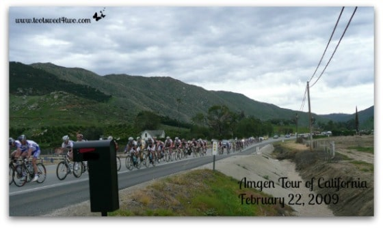 Amgen Tour of California - end in site