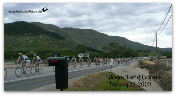 Amgen Tour of California - mailbox