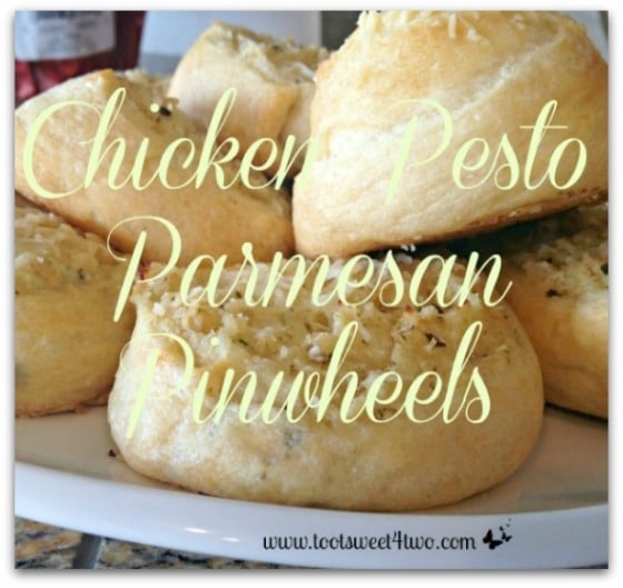 Chicken Pesto Parmesan Pinwheels cover